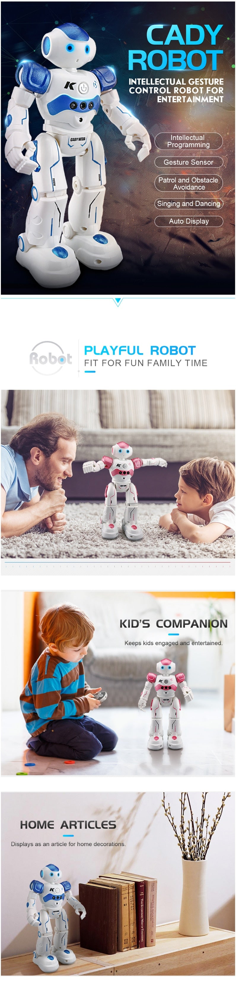 The Bast intelligent Control Robot Toy - The JfJ