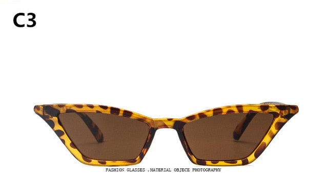 90s Retro Cat Eye Sunglasses - The JfJ