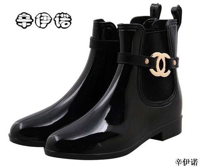 CC Rain Ankle Boots - The JfJ