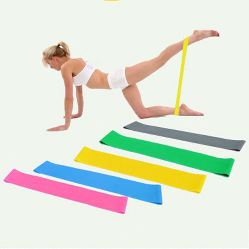 5PCS in 1 Set Sports Resistance Bands - The JfJ