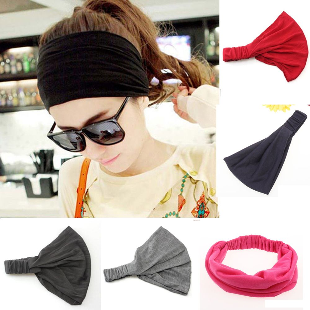 Vintage Wide Headband - The JfJ