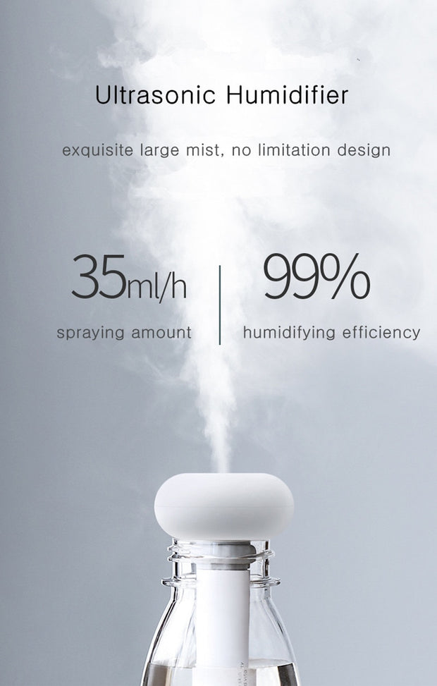 White Dismountable Air Humidifier for Home and Office - The JfJ