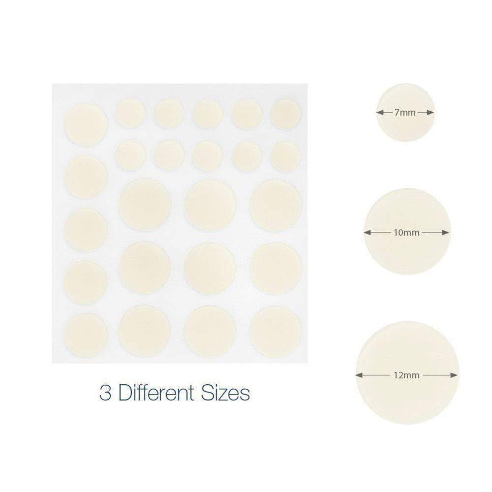 24pc Hydrocolloid Invisible Pimple and Blemish Skin Patch - The JfJ
