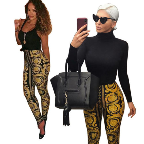 Chain Print Leggings - The JfJ