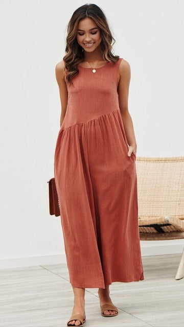 Loose In Up Wide Leg Jumpsuit - The JfJ