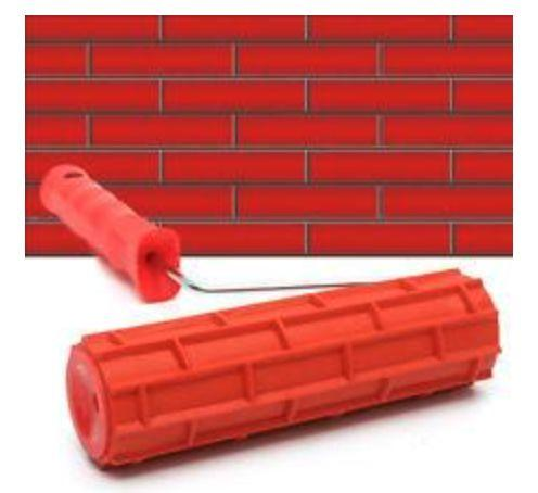 3D Rubber Wall Painting Roller - The JfJ