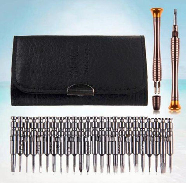 25 in 1 Screwdriver Wallet Kit Repair Tools - The JfJ