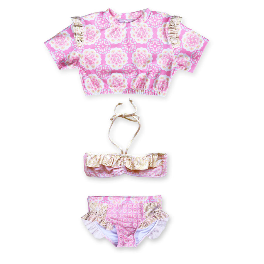 Lotus Pink 3 Piece Set