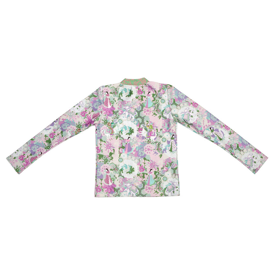 Ancient Circus Violet Long Sleeve Rashie