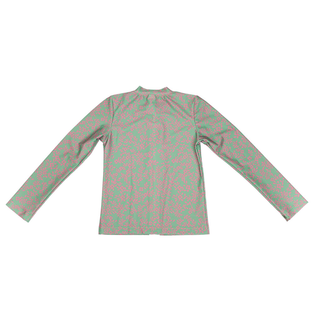 Ancient Circus Violet Long Sleeve Rashie Lolly Green