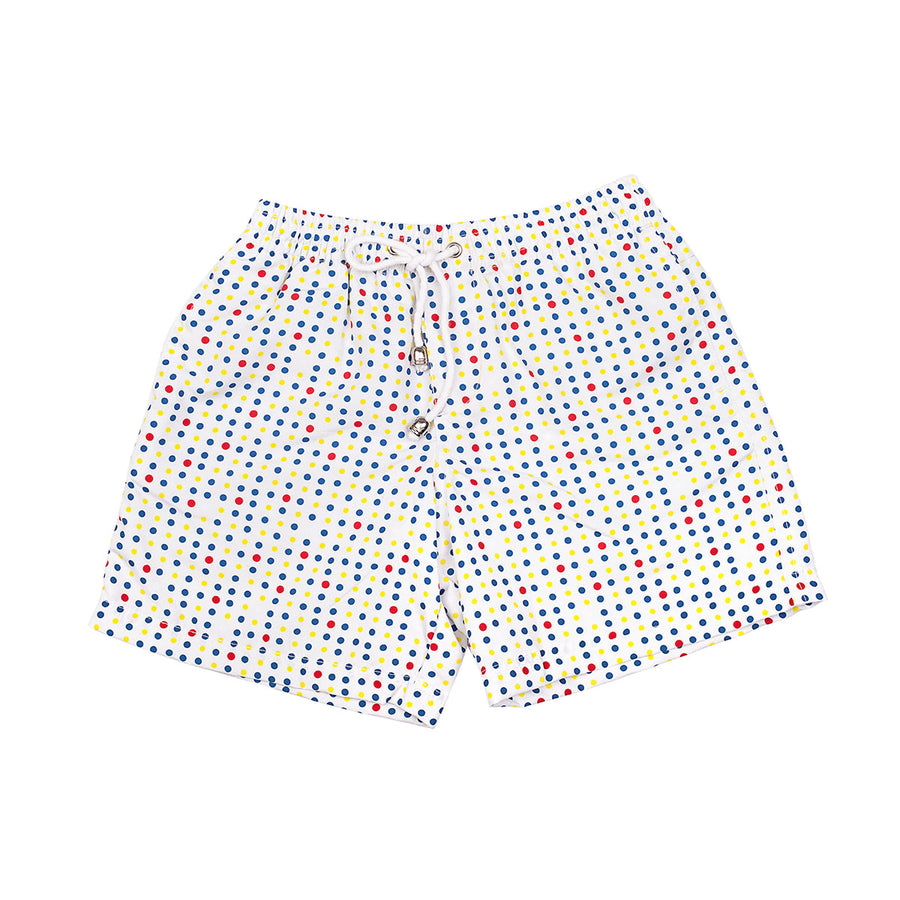 Flash Gordon Red Spots Boys Board Shorts