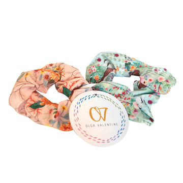 Gaia Scrunchies (2 Pack)