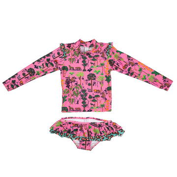Pink Jungle 2 Piece Set