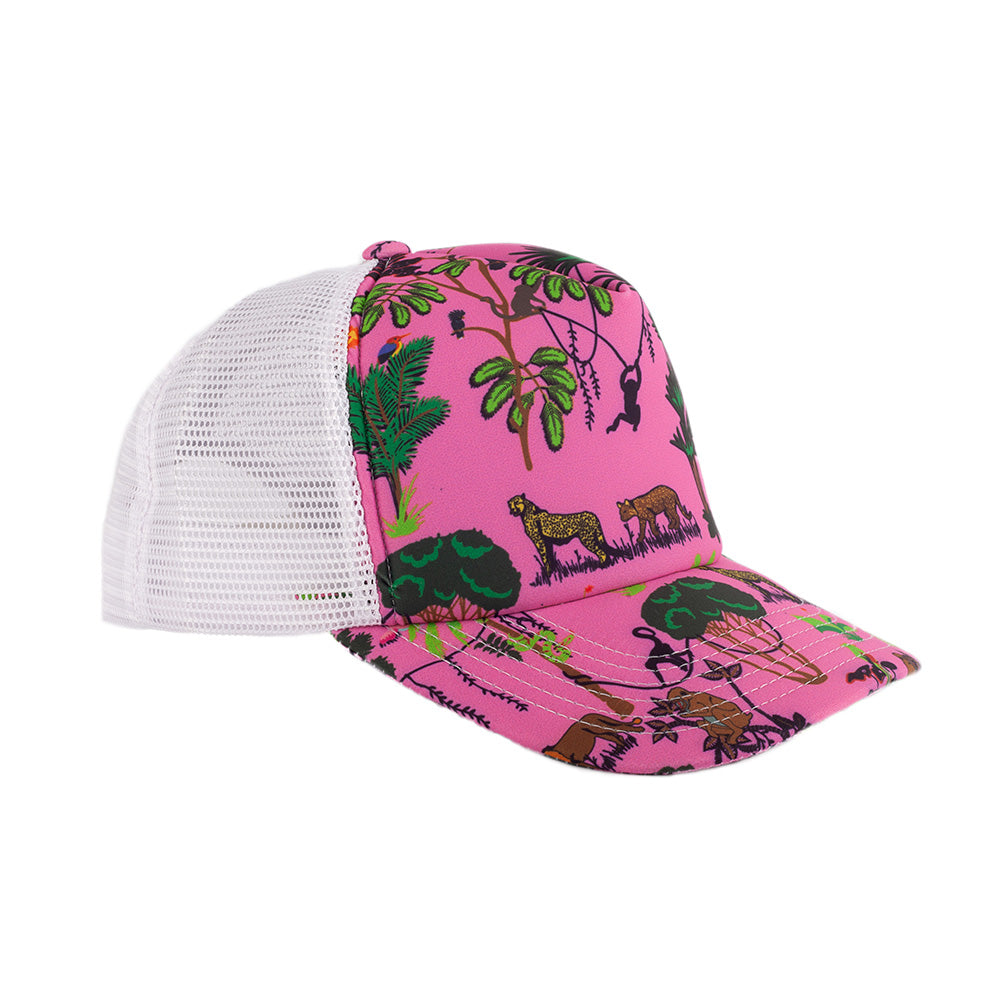 Pink Jungle Mesh Back Cap