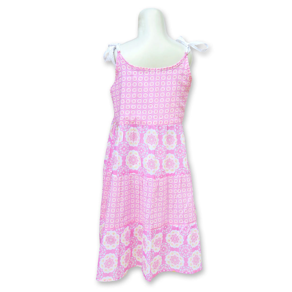 Lotus Pink Beach Dress