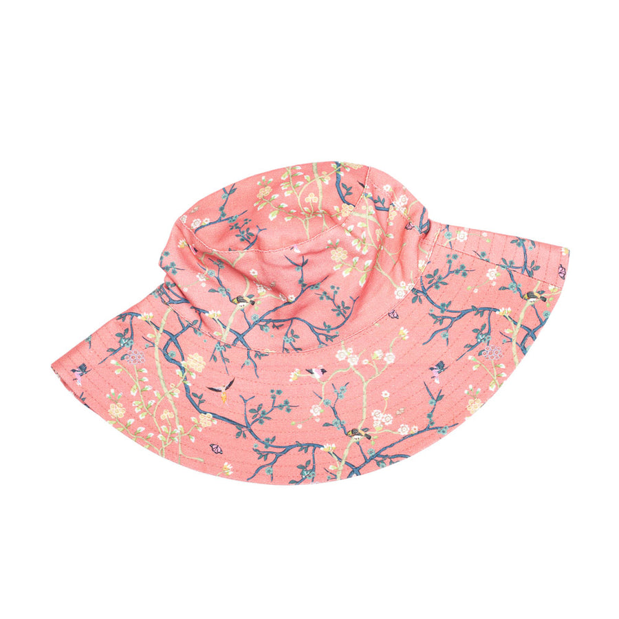 Rosie Bucket Hat in Peach