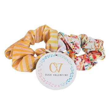 Secret Garden Scrunchies (2 Pack)