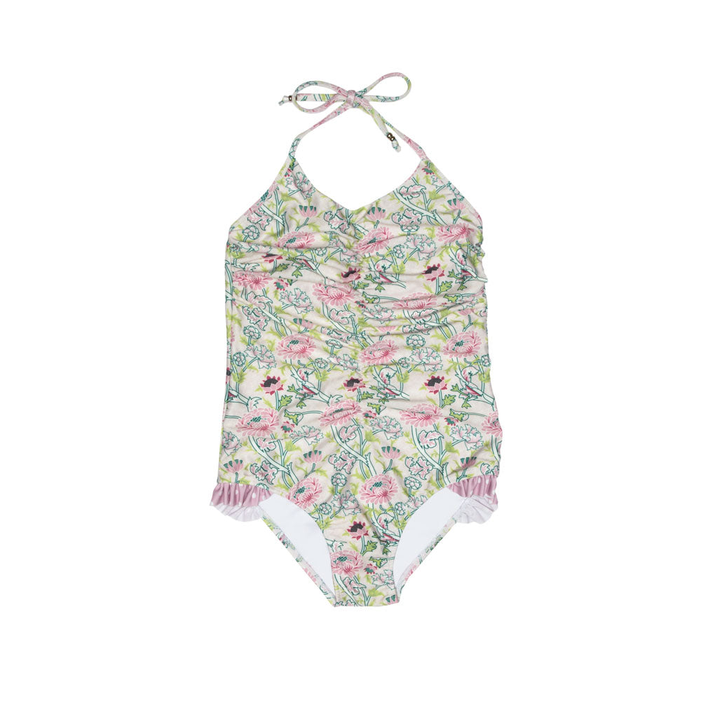 Primrose One Piece Tie Neck