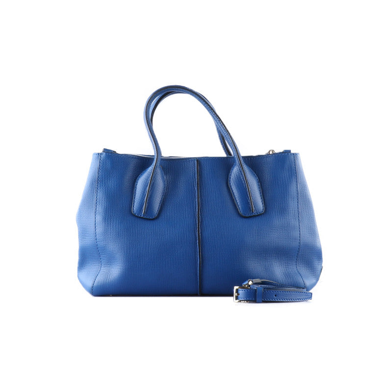 Blue rectangular handbag-Washed And Found