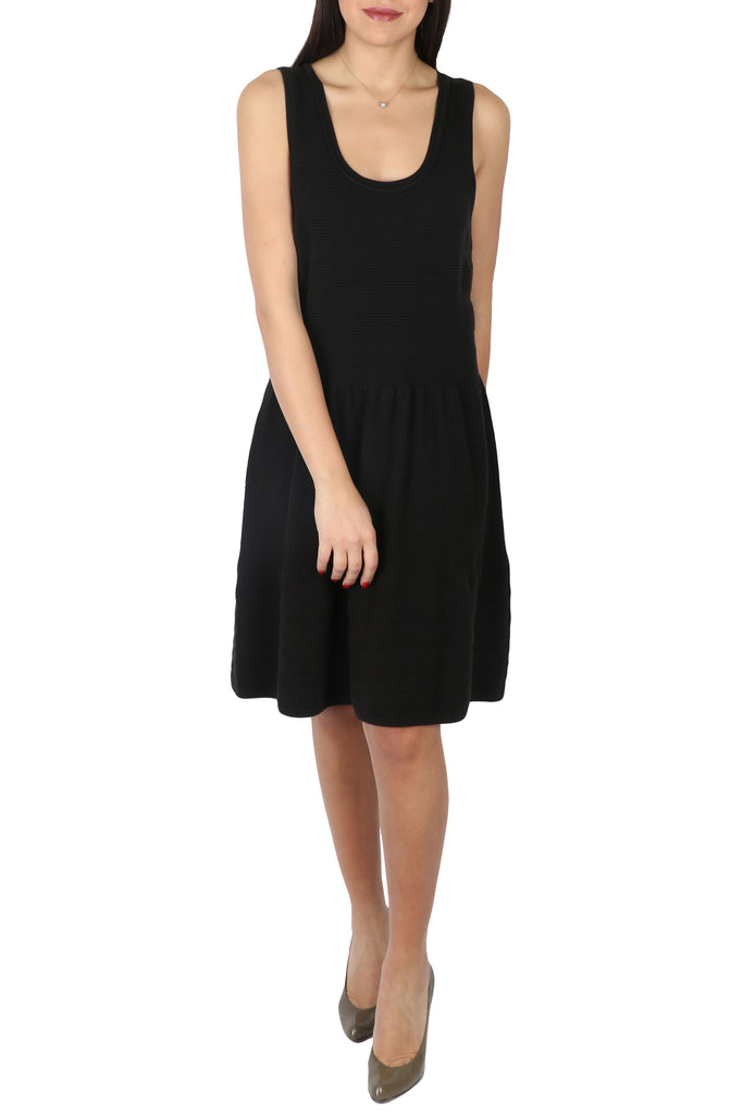 Black daytime cocktail dress-Washed And Found
