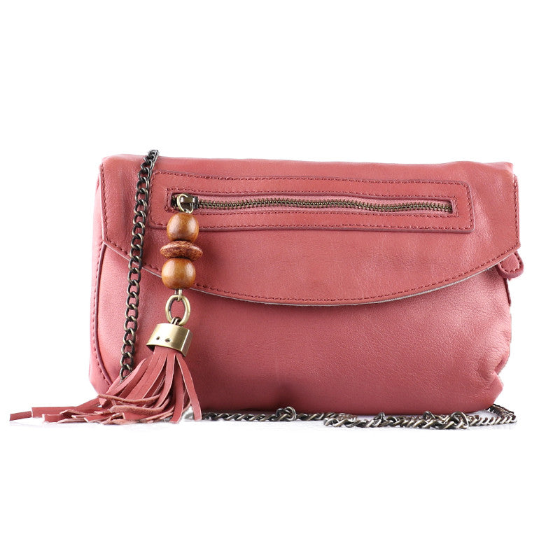 Hot pink cross body-Washed And Found
