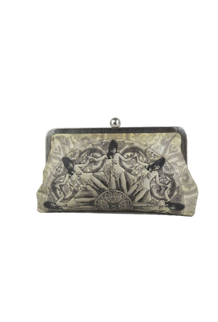 Belly Dancer clutch-Washed And Found