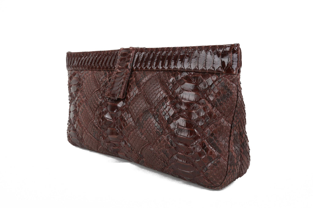 Exotic python clutch-Washed And Found