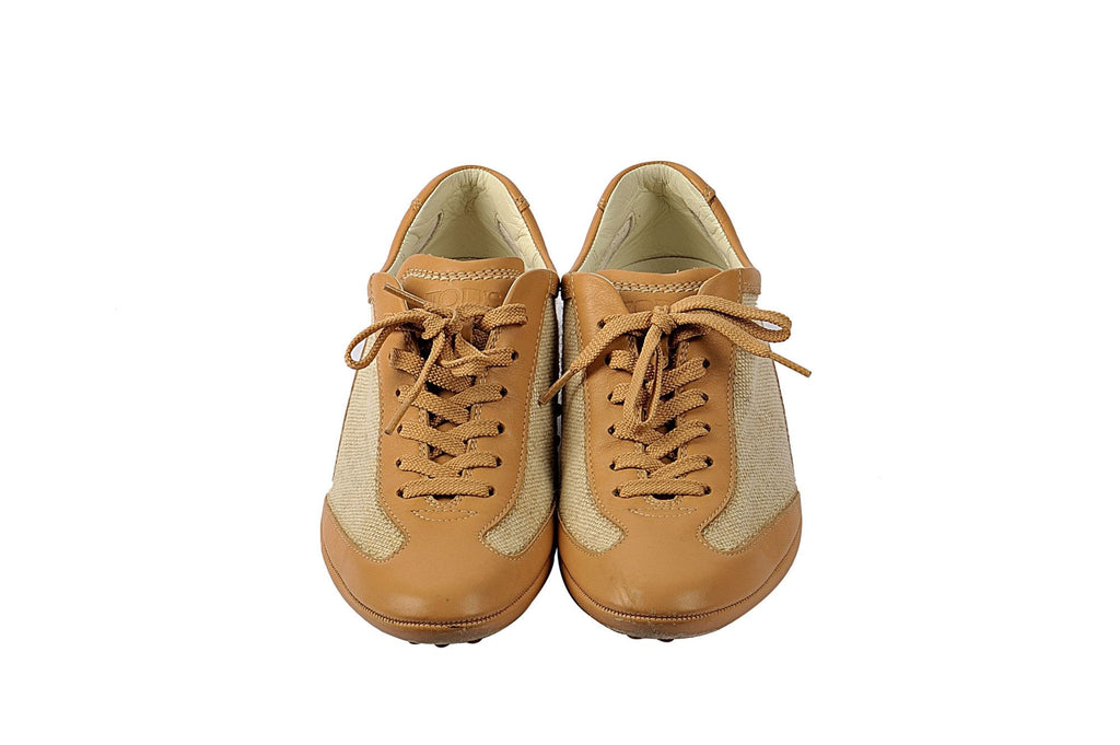 Beige sneakers-Washed And Found