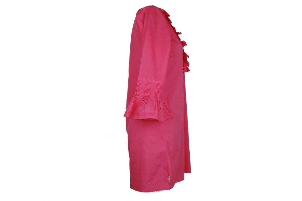 Pink beach kaftan-Washed And Found