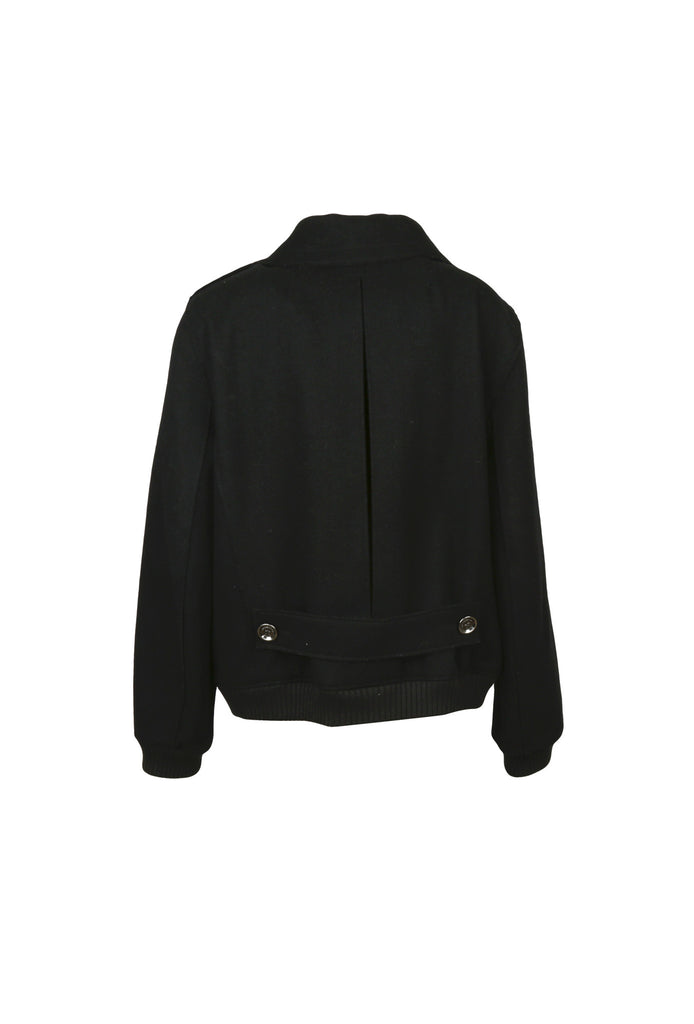 Black Wool Jacket-Washed And Found