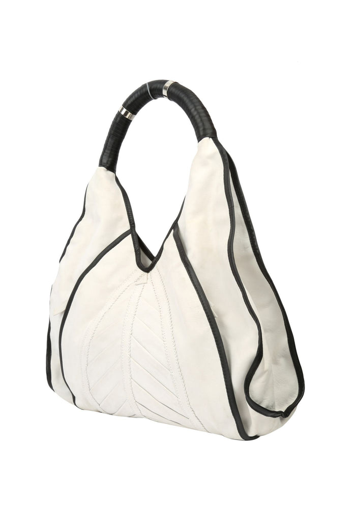 Black and White Tote-Washed And Found