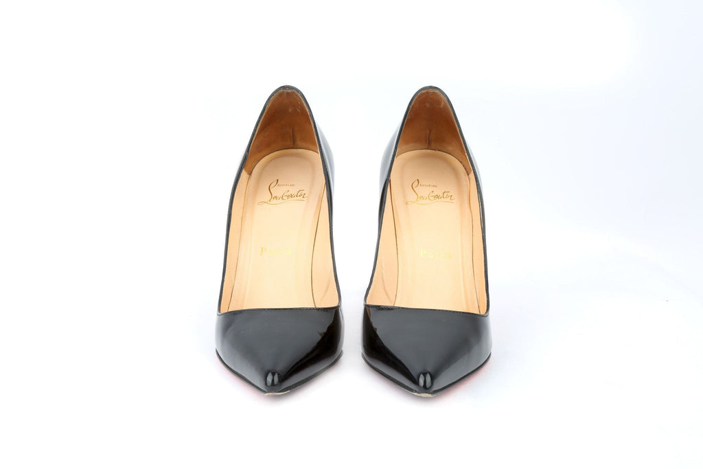Black Pigalle Pumps-Washed And Found