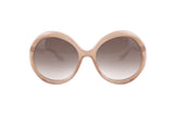 Round frame Mindy sunglasses-Washed And Found