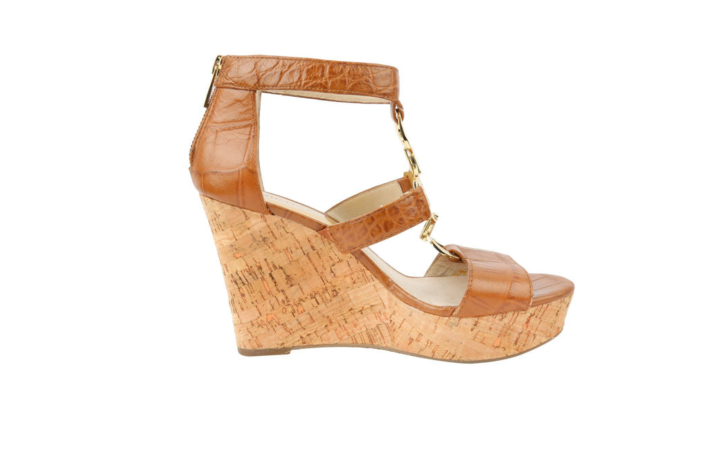 Camel Cork Wedges-Washed And Found