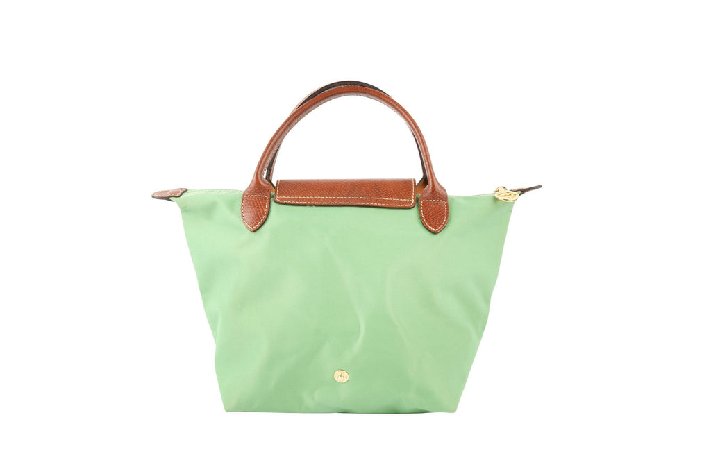 Le Pliage Green Bag-Washed And Found