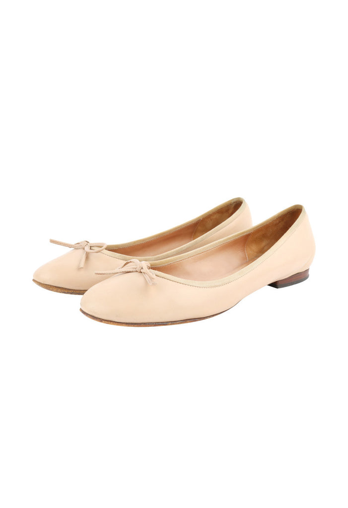 Nude Classic Ballerinas-Washed And Found