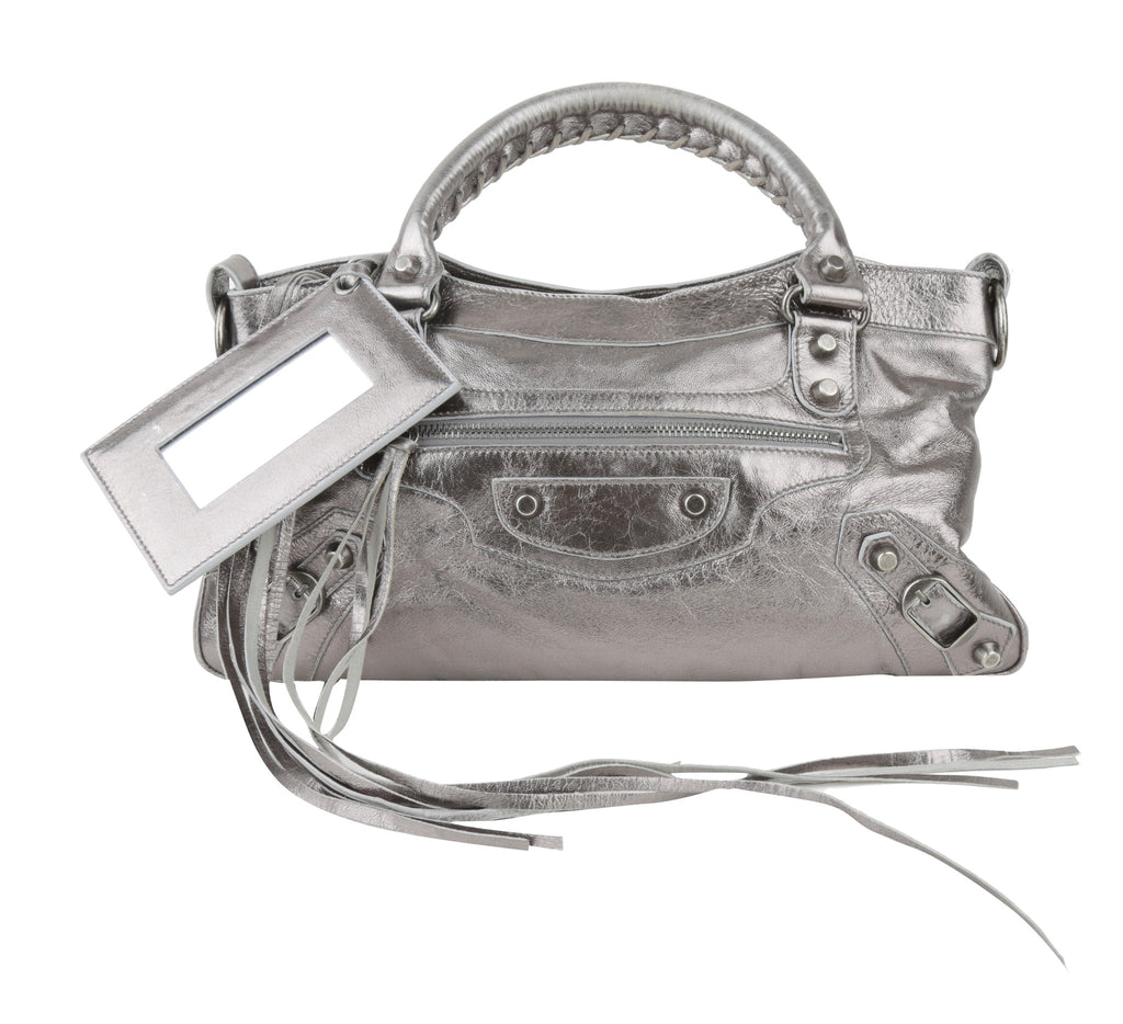 Metallic Motorcycle bag-Washed And Found