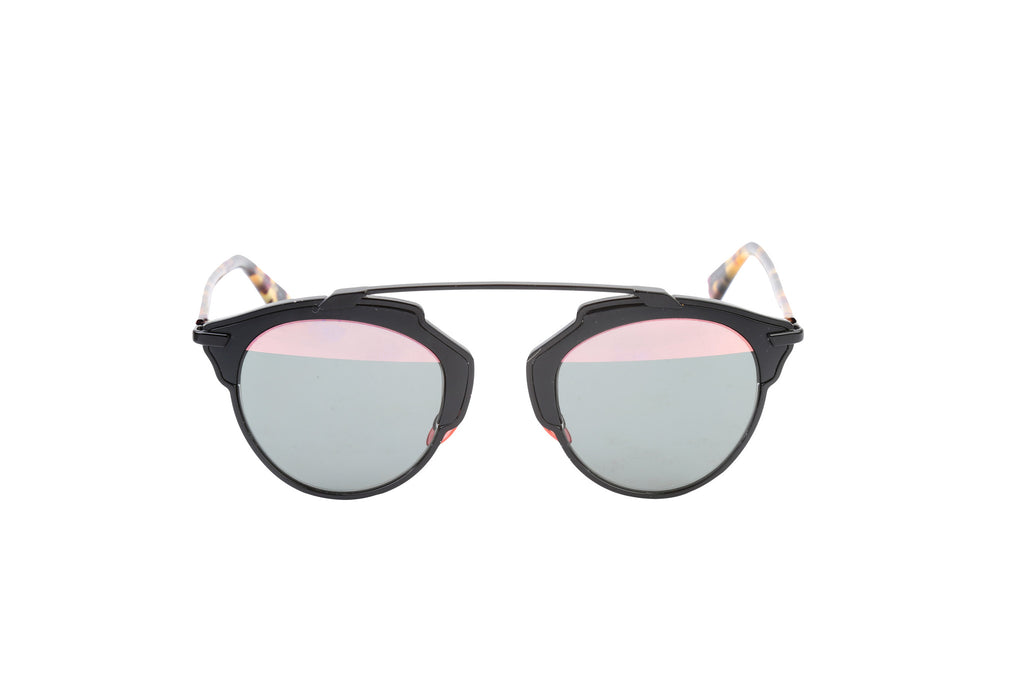 """So Real"" Bicolor Sunglasses-Washed And Found"