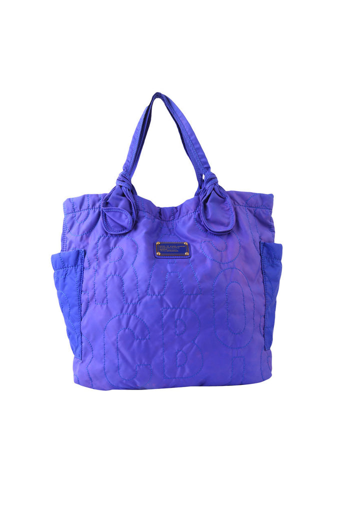 Pretty Purple Tote-Washed And Found