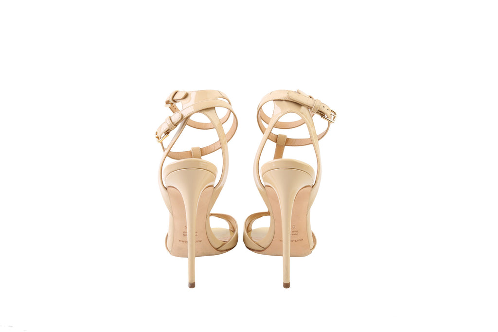 Ankle Strap Sandal-Washed And Found