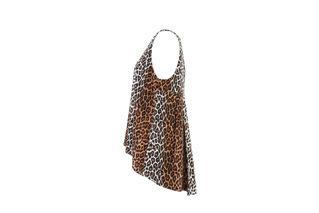 Leopard Print Top-Washed And Found