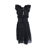 Notched black summer dress - Clothing -  Authentic Isabel Marant Etoile - Washed and Found - 2