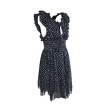 Notched black summer dress - Clothing -  Authentic Isabel Marant Etoile - Washed and Found - 4