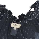 Notched black summer dress - Clothing -  Authentic Isabel Marant Etoile - Washed and Found - 6