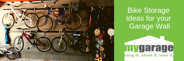 Bike Storage Ideas for your Garage Wall