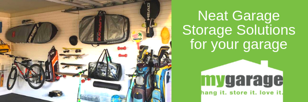 Neat Garage Storage Solutions for your garage