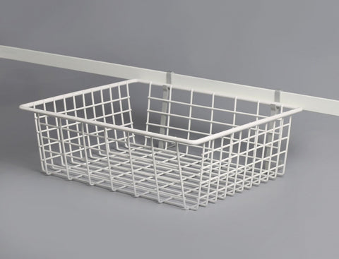 Out going basket for garage storage