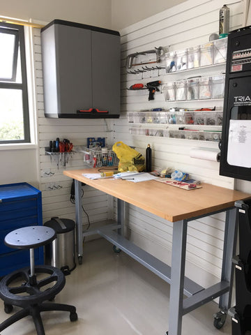 Workbench for diy storage MyGarage
