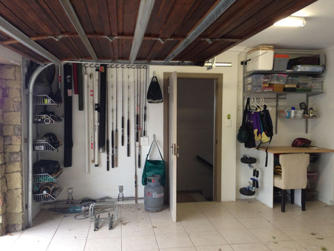 snooker cue fishing storage mygarage