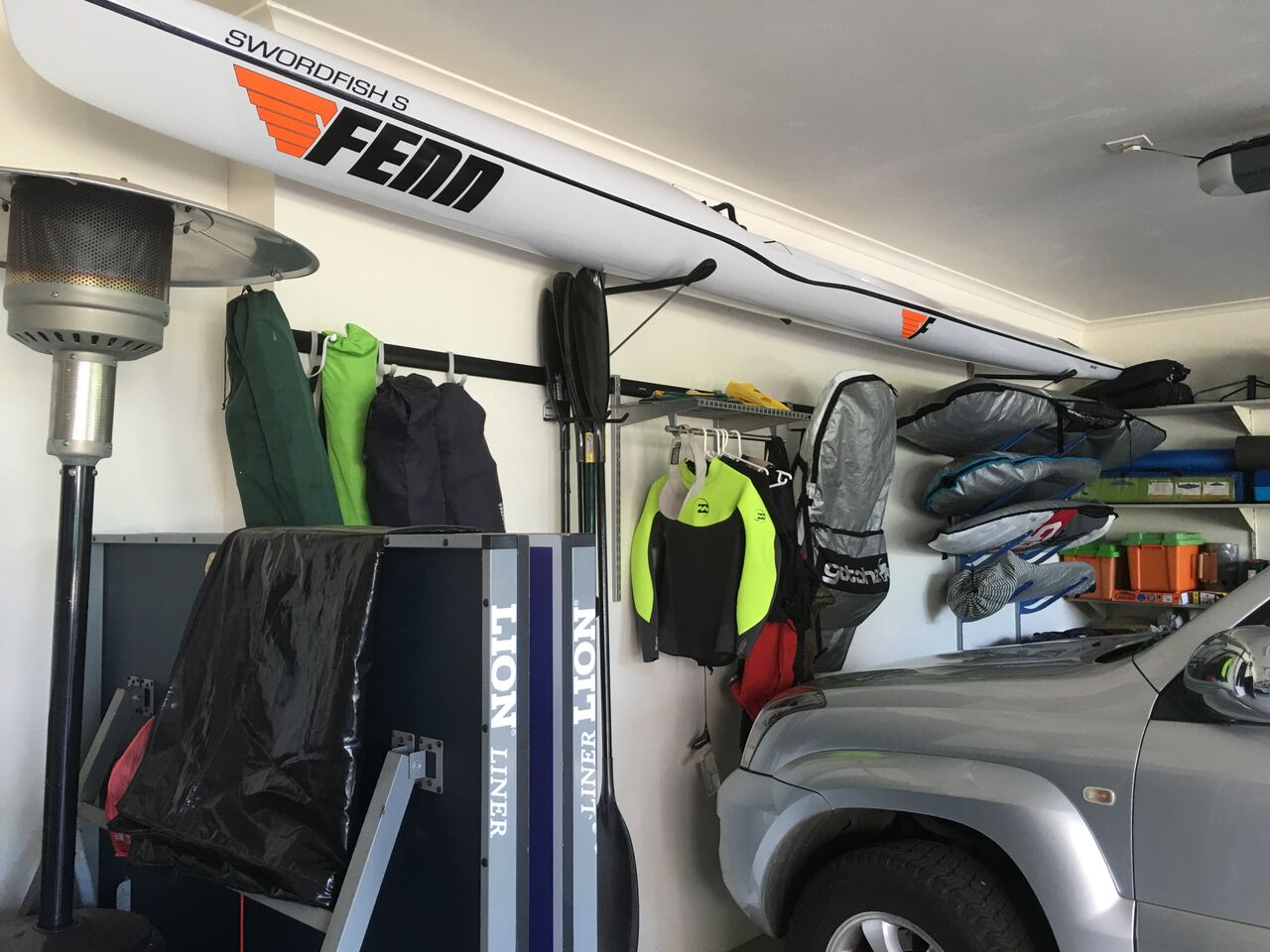 Kayak Storage Kit